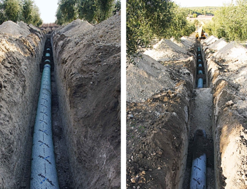 Drainage Fontanars Agricultural Property