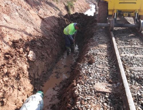 Drainage Suria mines Railway Part-2